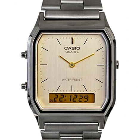 Casio Unisex Analog Digital Watch AQ230GG-9A AQ-230GG-9A