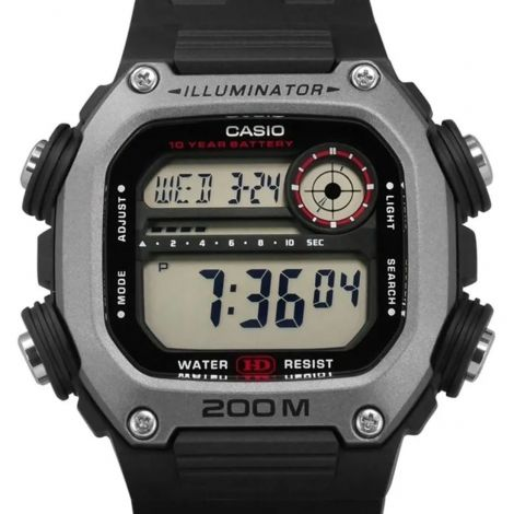Casio Youth World Time Digital Watch DW291H-1A DW-291H-1AV