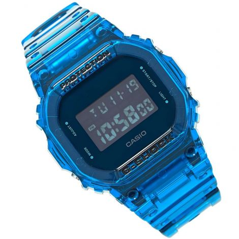 Casio DW-5600SB-2 DW5600SB-2 Semi Transparent Blue Watch