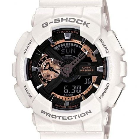 Casio White G-Shock Watch GA110RG-7 GA-110RG-7A