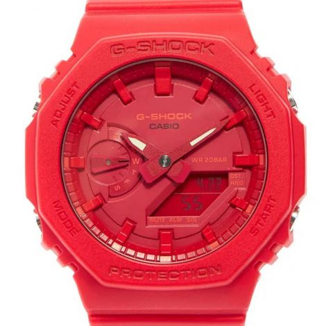 Casio Red G-Shock GA-2100-4A GA-2100-4ADR GA2100-4 Sports Watch