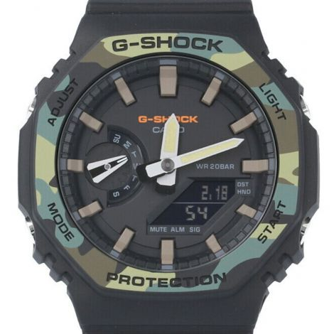 Casio G-Shock GA-2100SU-1A GA2100SU-1 Carbon Core Guard Watch