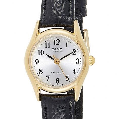 Casio Quartz Ladies Leather Watch LTP-1094Q-7B2 LTP1094Q-7B2