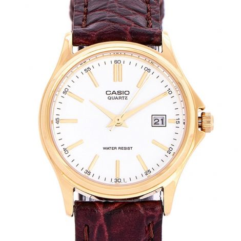 Casio Ladies Leather Casual Watch LTP-1183Q-7A LTP1183Q-7