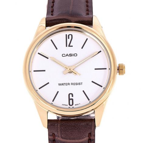Casio LTP-V005GL-7B LTPV005GL-7B Female Leather Watch