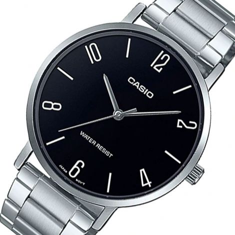 Casio MTP-VT01D-1B2 MTPVT01D-1B2 Male Casual Watch