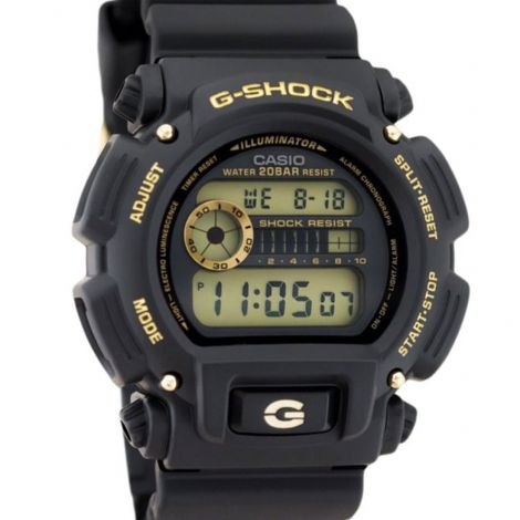 Casio G-Shock Black Digital Watch DW-9052GBX-1A9 DW9052GBX-1A9