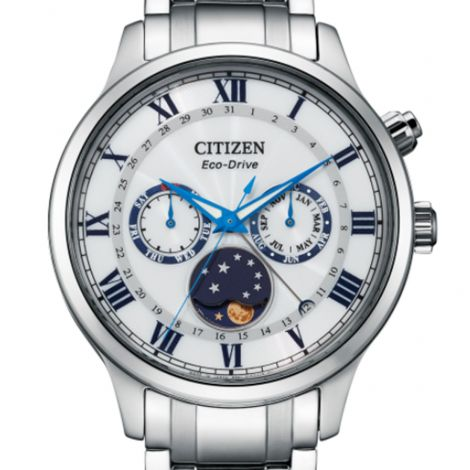 Citizen Eco-Drive AP1050-81A Moon Phase Male Watch