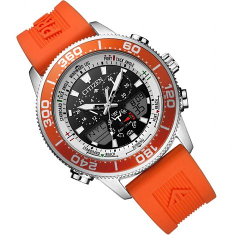 Citizen JR4061-18E Yacht Eco-Drive Orange Watch