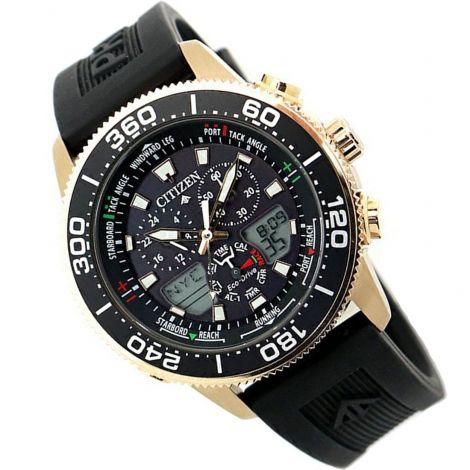 Citizen JR4063-12E Chronograph Solar Diving Watch