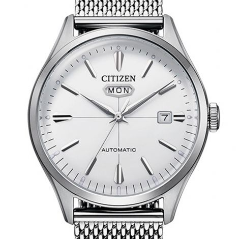 Citizen NH8390-89A Mesh Stainless Steel Automatic Watch