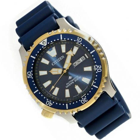Citizen NY0096-12L Automatic Blue Diving Watch