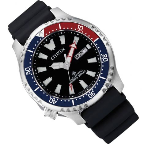 Citizen NY0110-13E Automatic Pepsi Bezel Dive Watch