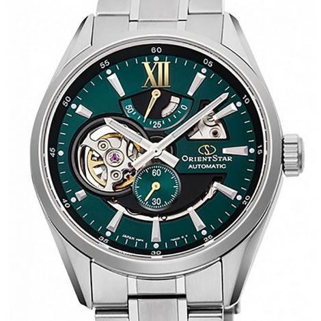 Orient Star Green Skeleton Dial Watch RE-AV0114E RE-AV0114E00B