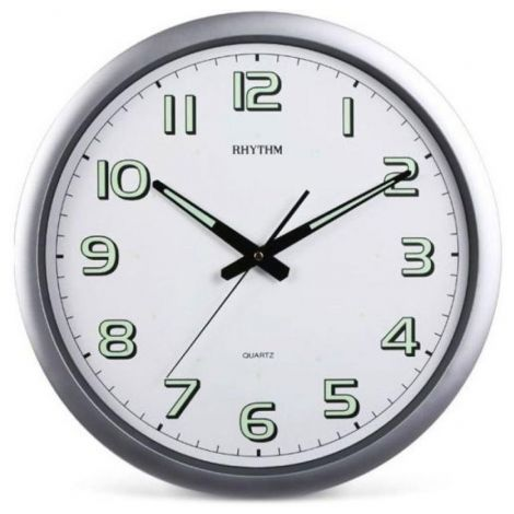 Rhythm CMG805NR19 Super Luminous Wall Clock