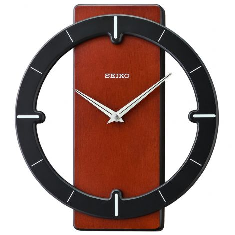 Seiko QXA774Z QXA774ZN Wooden Wall Clock