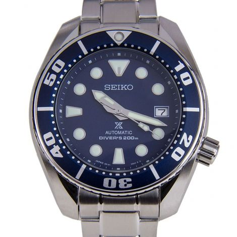 Seiko Prospex Blue Sumo Diving Watch SBDC033 SBDC033J SBDC033J1