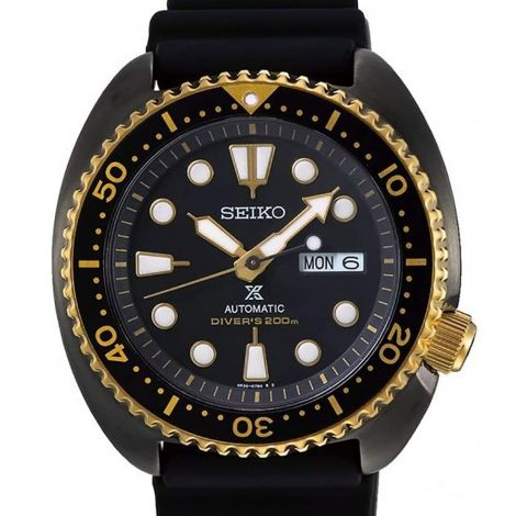 Seiko Black Gold Turtle Diving Watch SRPD46 SRPD46K1