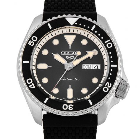 Seiko SRPD73K2 SRPD73 SRPD73K Silicone Sports Watch