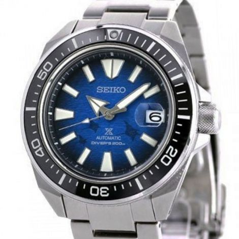 Seiko Manta Ray Save the Ocean Diving Watch SBDY065 SRPE33 SRPE33K SRPE33K1