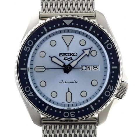 Seiko SRPE77K1 SRPE77 SRPE77K Mesh Sports Watch