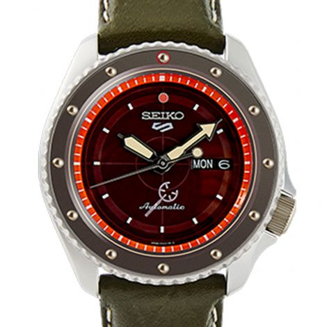 Seiko SRPF59K1 SRPF59 SRPF59K Usopp One Piece Limited Edition Watch