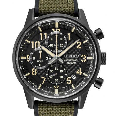 Seiko Lord SSB373P1 SSB373 SSB373P Chronograph Watch