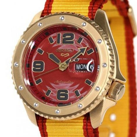 Seiko SBSA084 Street Fighter Zangief Limited Edition Watch