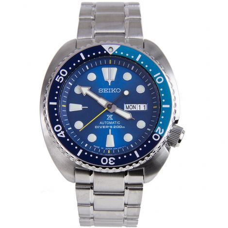 Seiko Prospex SRPB11J1 SRPB11 SRPB11J Blue Lagoon Turtle Watch with Prospex Box Strap